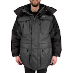 Freeze Defense Men's Big & Tall 3in1 Winter Jacket Coat Parka & Reversible Vest