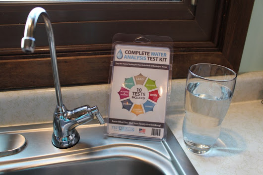 Water Testing Kit Review & Giveaway (11/4)