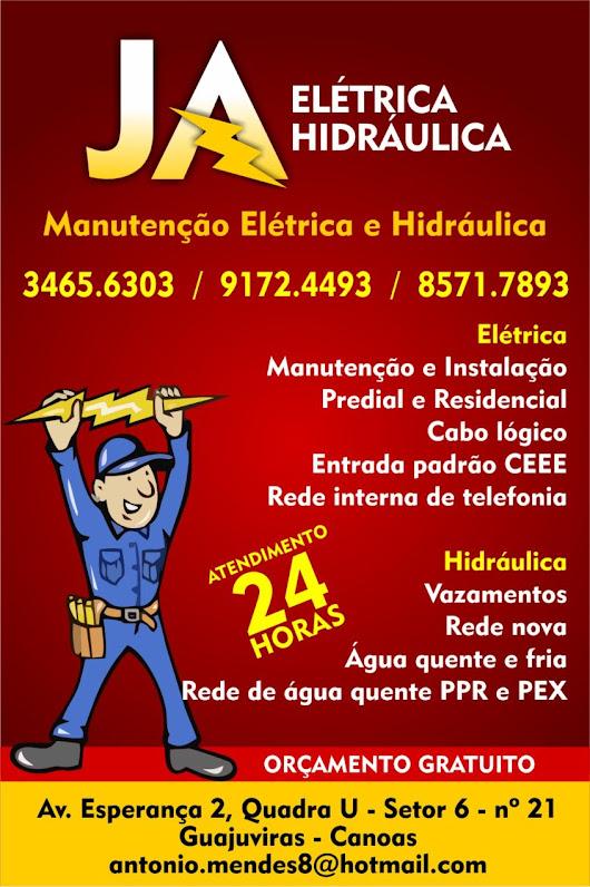 Super JA MANUTENÇÕES, ELETRICISTA RESIDENCIAL, PREDIAL E COMERCIAL EM  DP21