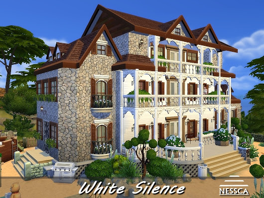 Nessca - White Silence is a colonial-inspired villa. In the...