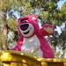 Disneyland day 1 - Evil Lotso