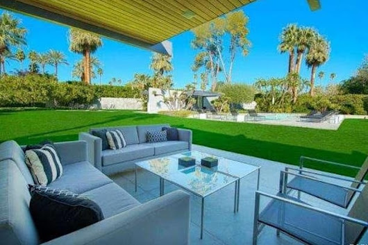 Rent Leonardo DiCaprio's Palm Springs Pad for $4,500 a Night