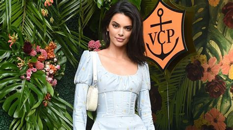 Kendall Jenner in Philosophy at the 2018 Veuve Clicquot