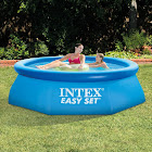 """Intex 8' x 30"""" Easy Set Above Ground Swimming Pool with Filter Pump"""