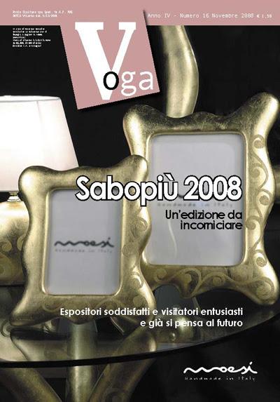 Copertina Voga Novembre 2008 su Sabopiù 2008