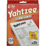 Hasbro Yahtzee Score Pads - 80 ct