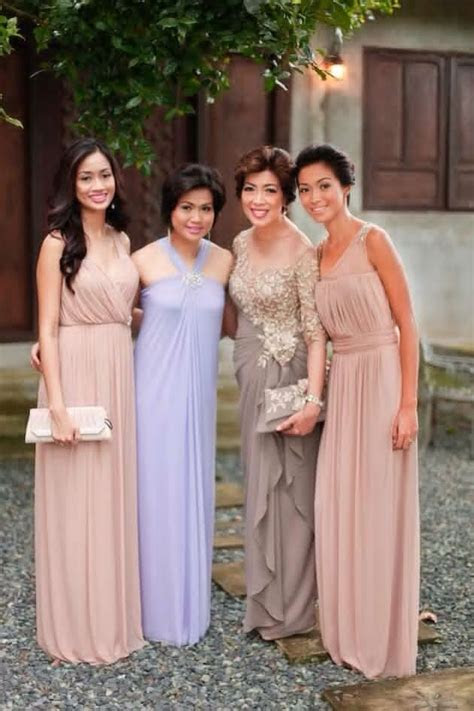 Ninangs   Wedding Entourage Outfit Ideas   Wedding, Formal