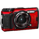Olympus Tough TG-6 12.0 MP Compact Ultra HD Digital Camera - 4K - Red