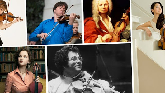 The 25 greatest violinists of all time, as chosen by Classic FM