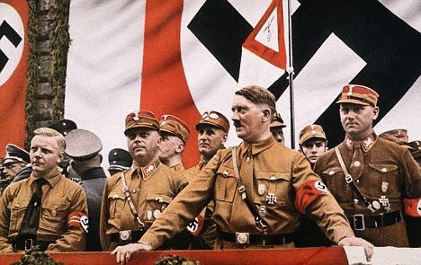 Nazis: Jones claims to be a former member of the National Socialist party