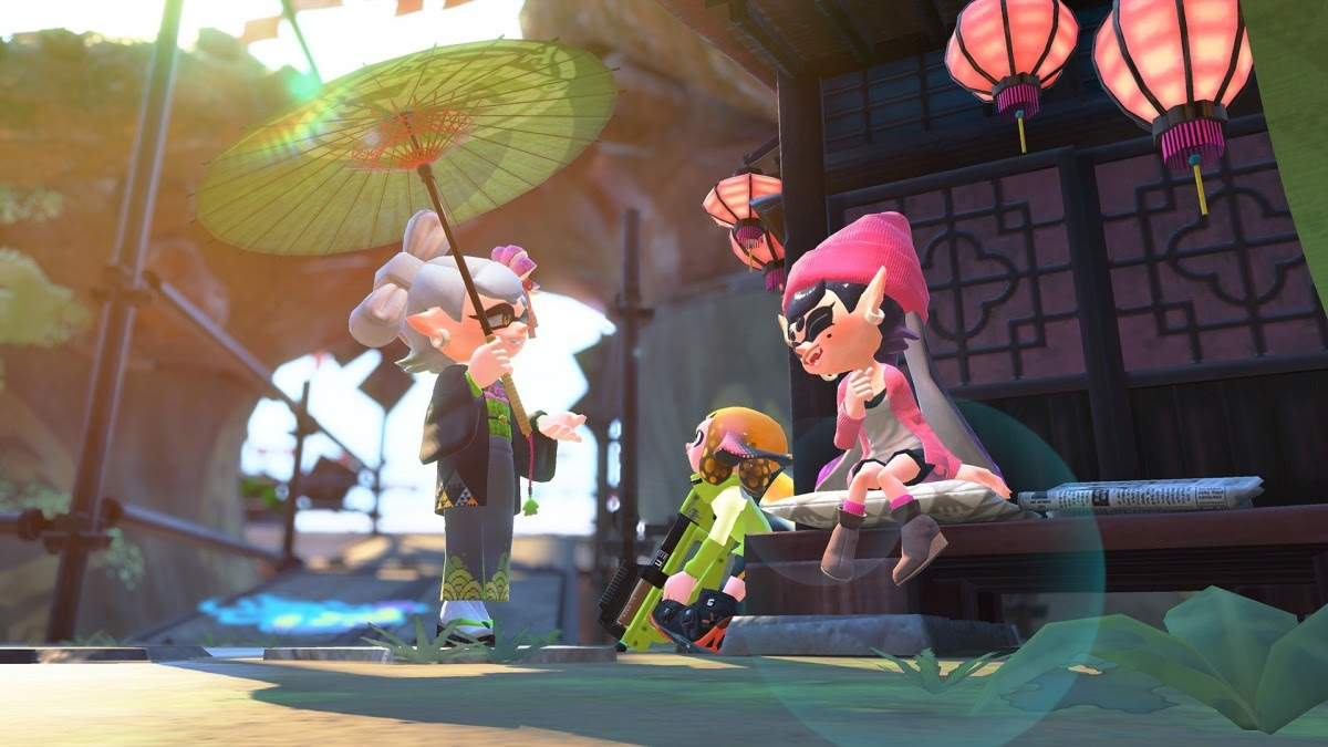 Splatoon 2 Octo Expansion Nintendo Switch Screens And Art Gallery
