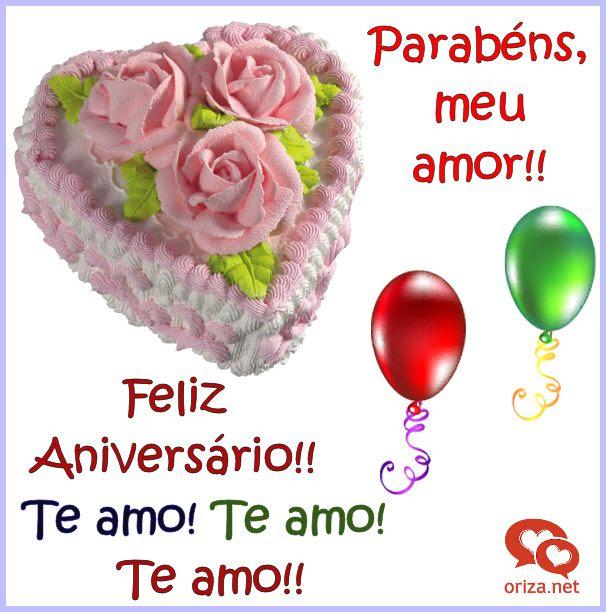 Feliz Aniversário Meu Amor Orizanet Portal Poemas E