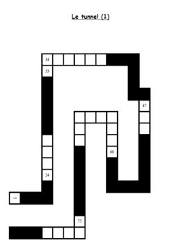 Jeu de numération : Le jeu du tunnel