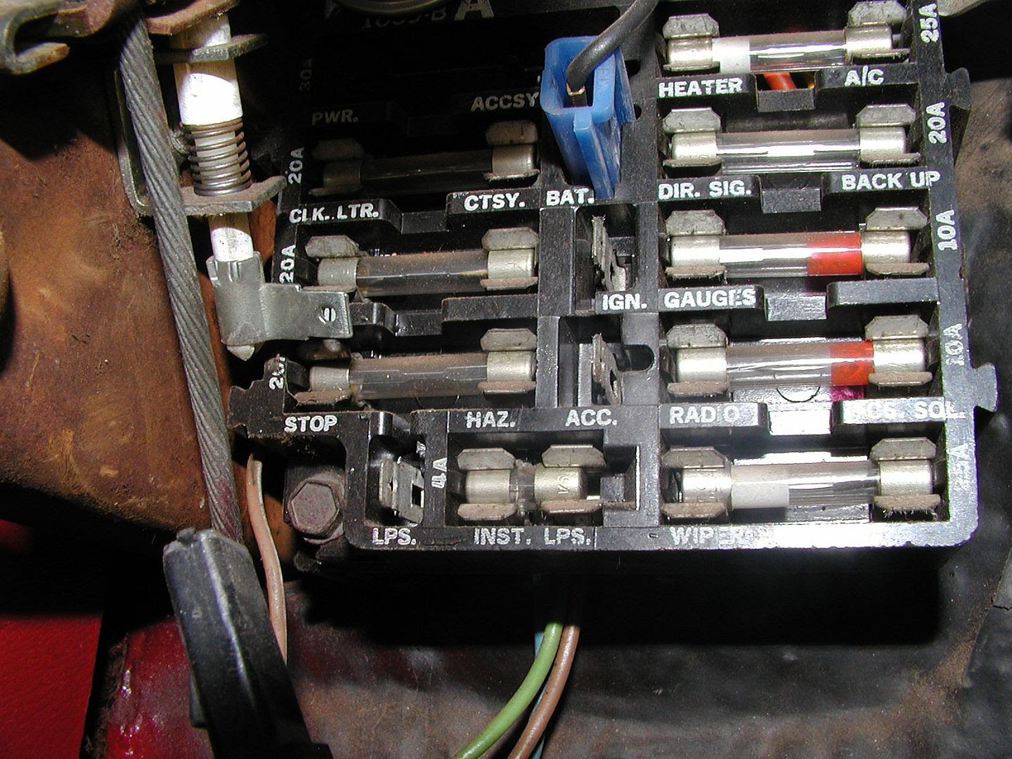 Chevelle Fuse Box - Wiring Diagram