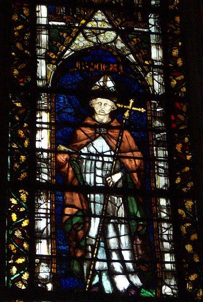 Saint Hugues de Rouen. Evêque de Rouen, de Paris et de Bayeux († 730)