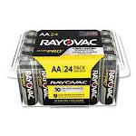 Rayovac Ultra Pro Alkaline Batteries, AA, 24/Pack (RAYALAA24PPJ)