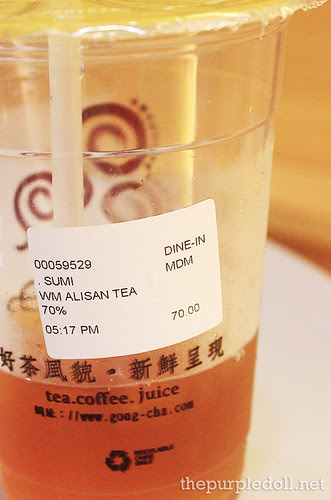 Winter Melon Alisan Tea