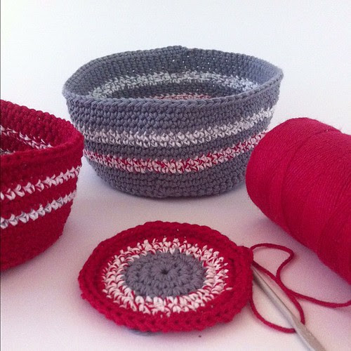 Almost finished my little nesting bowls