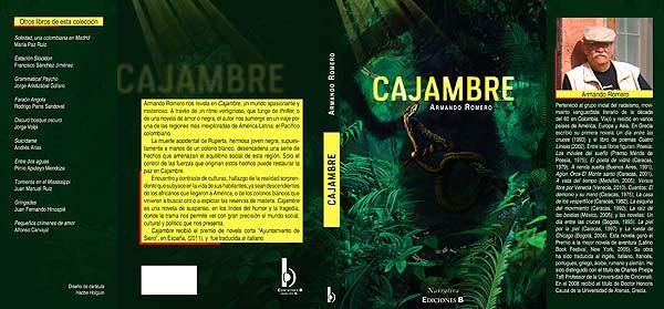 Ilustración y diseño de portada. Cajambre por Hache Holguín