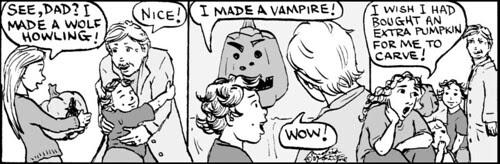 Home Spun comic strip #410