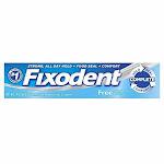 Fixodent Free Cream Size 2.4z Fixodent Free Cream 2.4z
