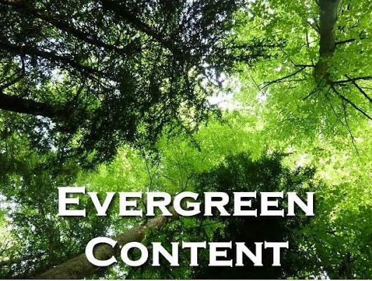 The Value of Evergreen Content to Your Blog - Jenn's Trends