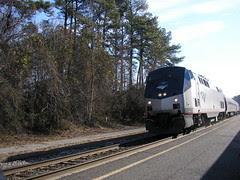 Train arriving