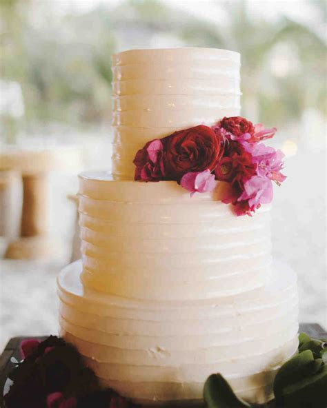 39 Wedding Cakes That Prove Vanilla Isn't Boring   Martha