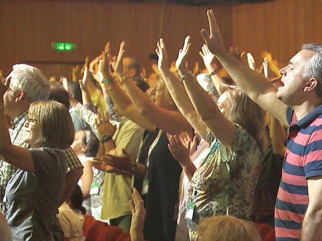 International Christian Embassy Jerusalem's Feast of Tabernacles, Photo, CBN News