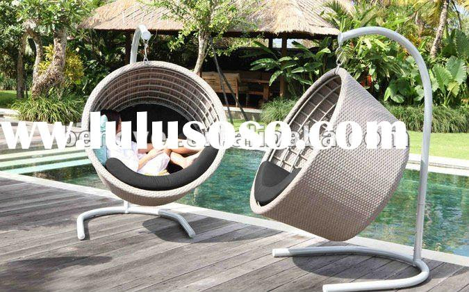 rattan patio swing chair hanging chair ikea, rattan patio swing ...