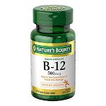 Natures Bounty Vitamin B12 500 Mcg Microlozenges - 100 Ea
