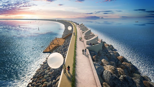 Swansea lagoon should use 'Roman-style' concrete: expert - BBC News