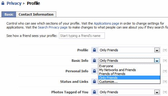 Privacy Profile
