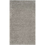 3'x5' Reedley Solid Loomed Accent Rug Light Gray - Safavieh