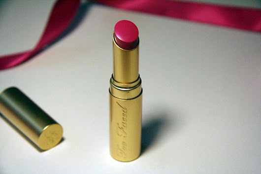 Too Faced So Sexy Berry La Creme Color Drenched Lipstick Review