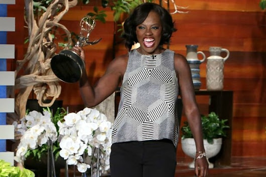 Viola Davis Reveals Why She Chose Harriet Tubman Quote for Historic Emmy Win Speech (Video)