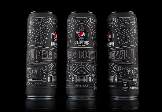 Pepsi Launches Limited Edition Commemorative Super Bowl Can