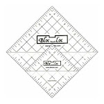 "Bloc Loc~Half Square Triangle Ruler Set #6~ 2.5""and 4.5"" Acrylic Ruler"