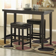 ashley signature design kimonte  piece counter table set