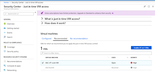 Azure Security Center (ACS), Just-In-Time (JIT) VM Access, and ARM Resource Lock Bug - AdinErmie.com