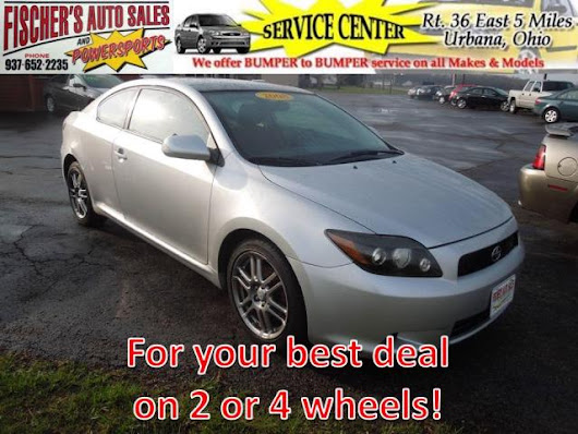 Used 2008 Scion tC for Sale in Urbana OH 43078 Fischer's Auto Sales & Powersports
