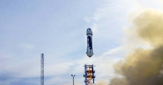 Jeff Bezos beats Elon Musk's SpaceX in the reusable rocket race