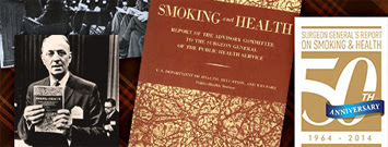 Collage: 50 Years of Smoking Reports
