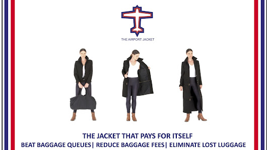 The Airport Jacket | Wearable Luggage For The Frequent Flyer