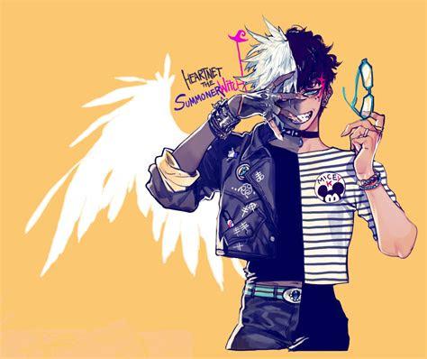 doodles pigeon   bishonen anime art