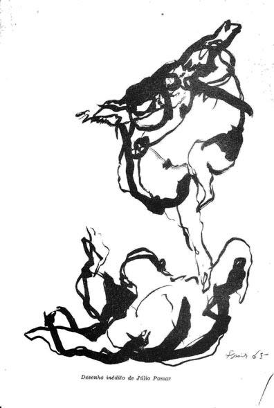 desenho de Júlio Pomar