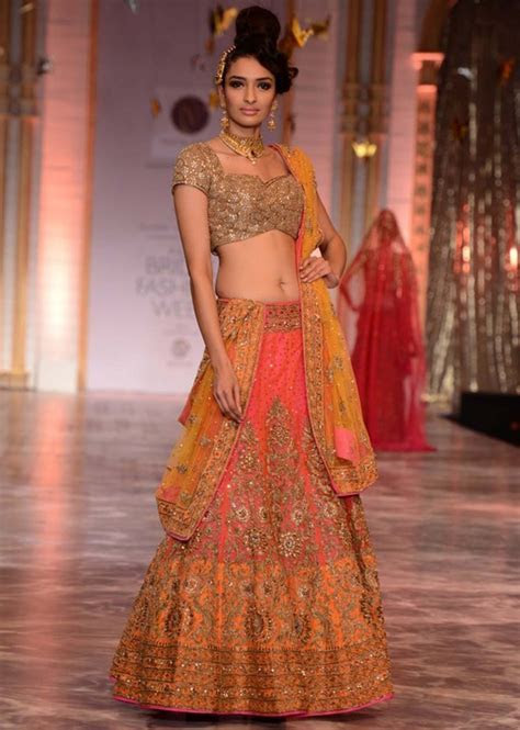 Best 50  Bridal Lehenga Collection 2017 By Top 10 Indian