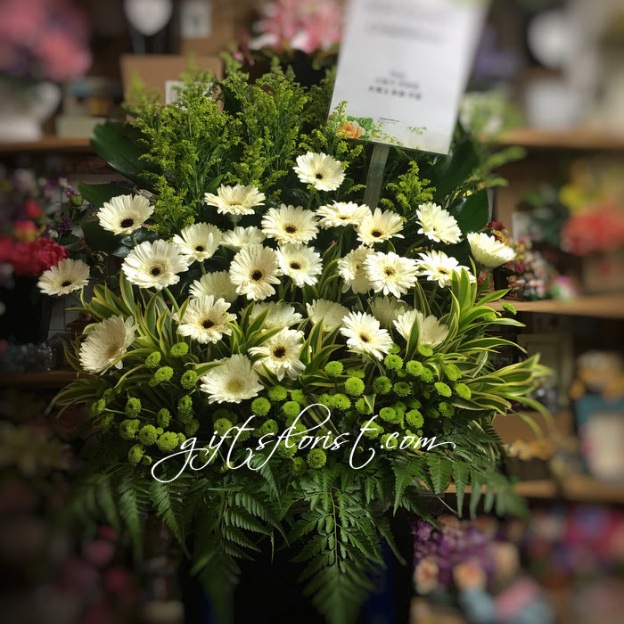 Singapore Flower Shop Florists Singapore Flowers Gifts To Singapore Sympathy Funeral Stand