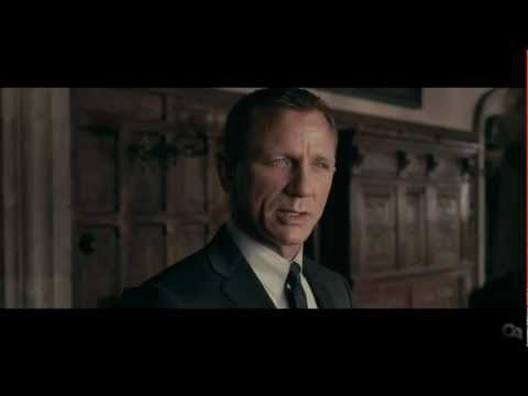 video que muestra el trailer de la película James Bond Skyfall
