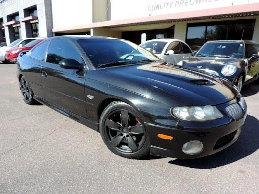 Used 2006 Pontiac GTO Base for Sale in Phoenix AZ 85027 101 Auto Outlet